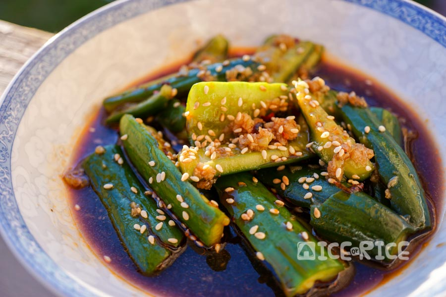 smashed chinese cucumber salad